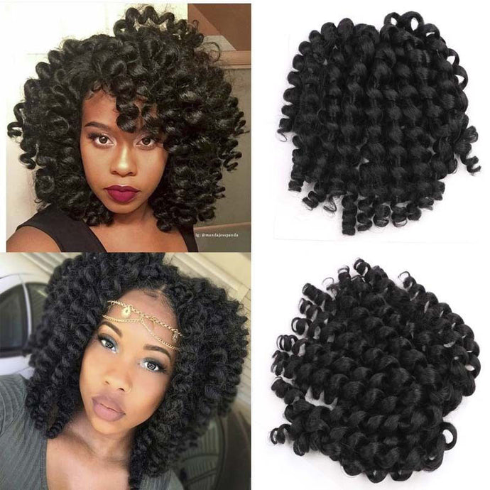 crotchet hair_ Ombre Braiding Twist Braid Curls Hair