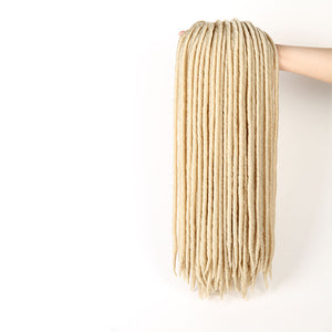Crotchet braids_18 Inches Faux Locs Braiding Hair Synthetic Hair