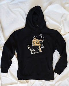 'Pin me up' Hooded Sweatshirt