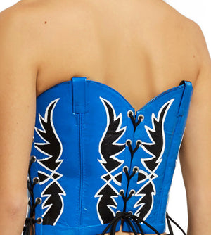 Cowboy Boot Bustier