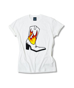Flame Boot T-Shirt