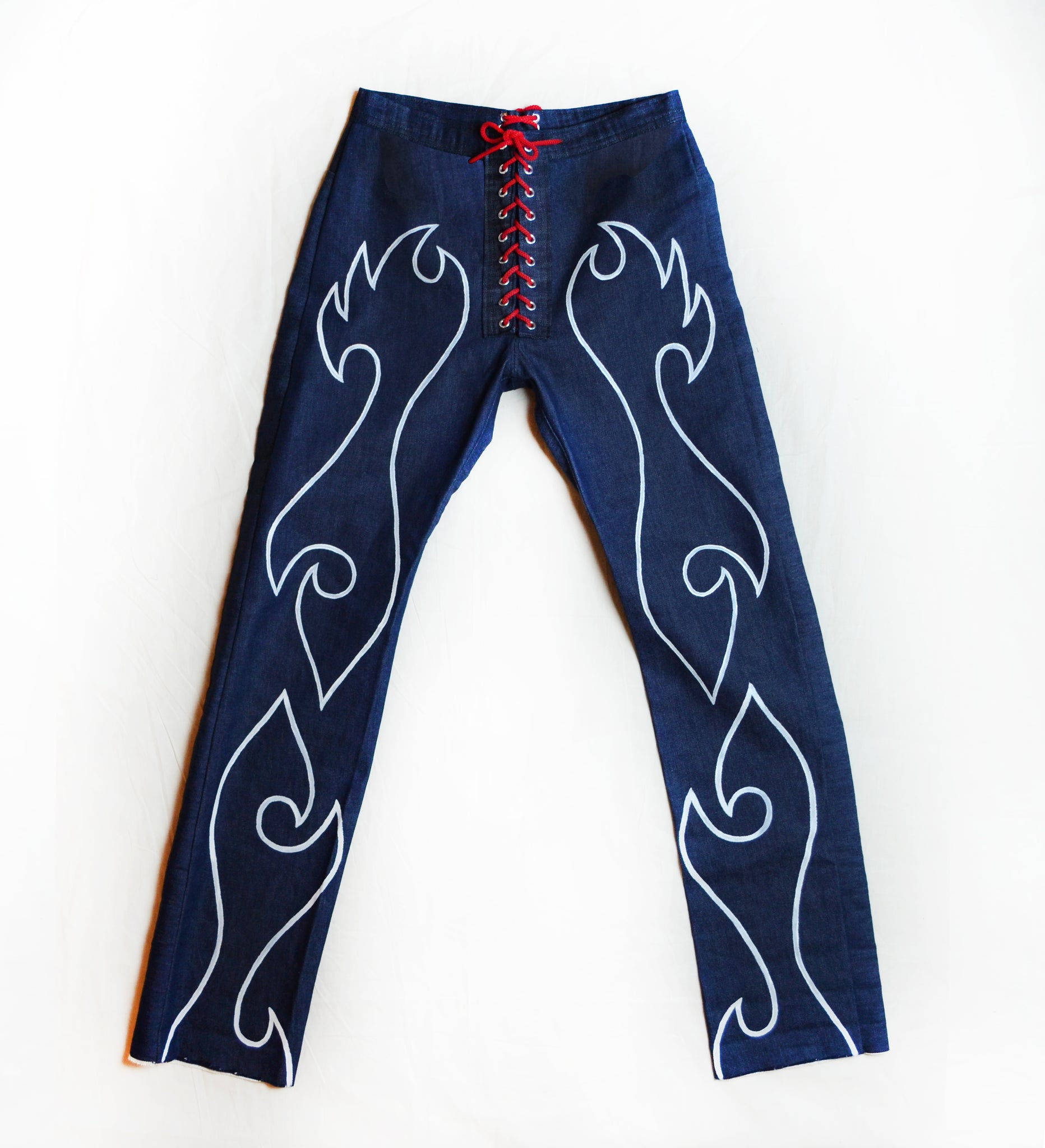 Rodeo Drive Pants (Dark Blue)