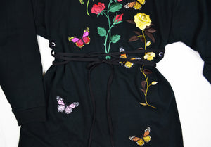 Butterfly Sweater Dress