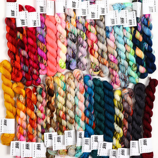 Sock Fade Set 10 (7 skeins)