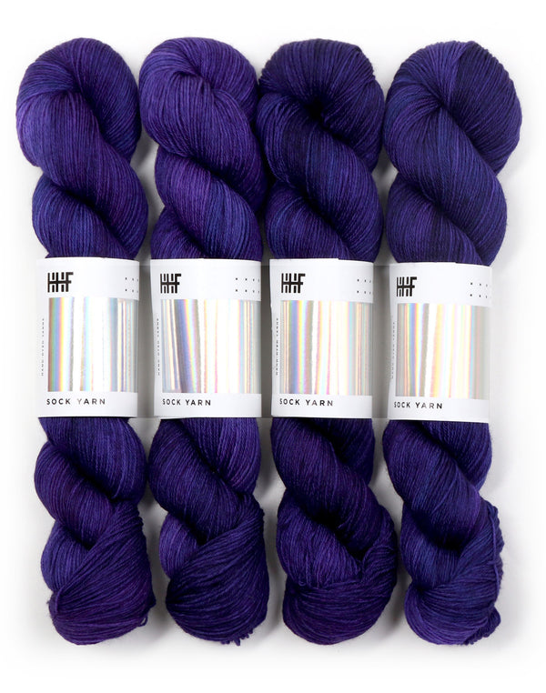 Purple Reign, Sock Yarn