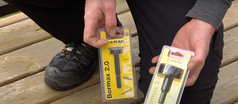 Drill bits for deck lights