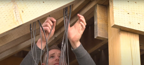 measure deck light cable and determine if you need and extension