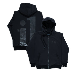 Zip Up Hoodie IL Black (XL)