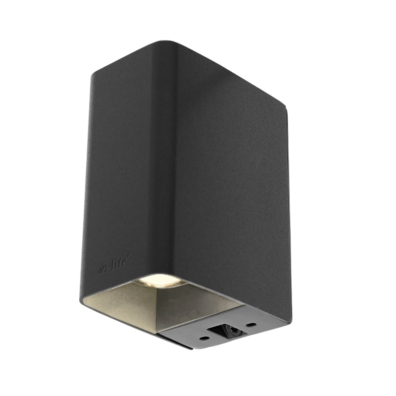 ACE UP DOWN DARK ‒ 4'' Exterior Wall Light