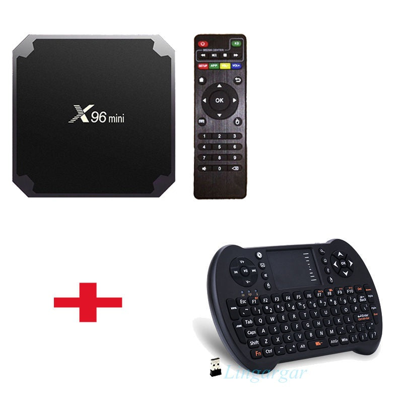 4818ed2706b ... X96 Mini S905W 4K Android 7.1 TV Box Amlogic Quad-Core 2.4G WiFi Kodi  ...