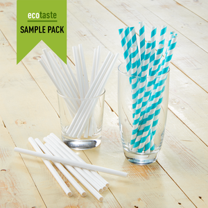 SAMPLE PACK - Paper Drinking Straws