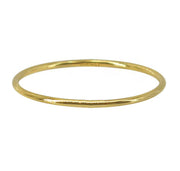 14k gold filled simple stacking ring