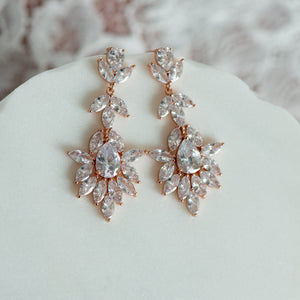 Dina cubic zirconia earrings
