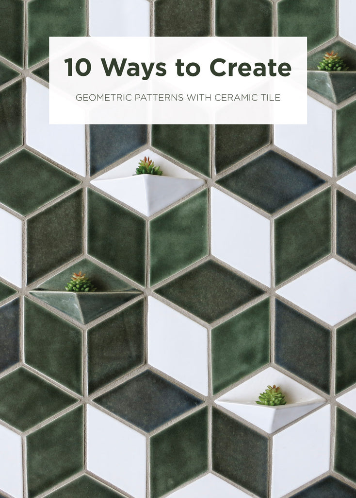 10 Ways to Create Geometric Tile Patterns | Mercury Mosaic – Mercury ...
