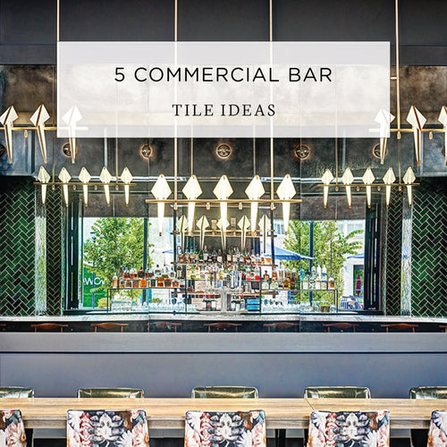 5 Commercial Bar Tile Ideas