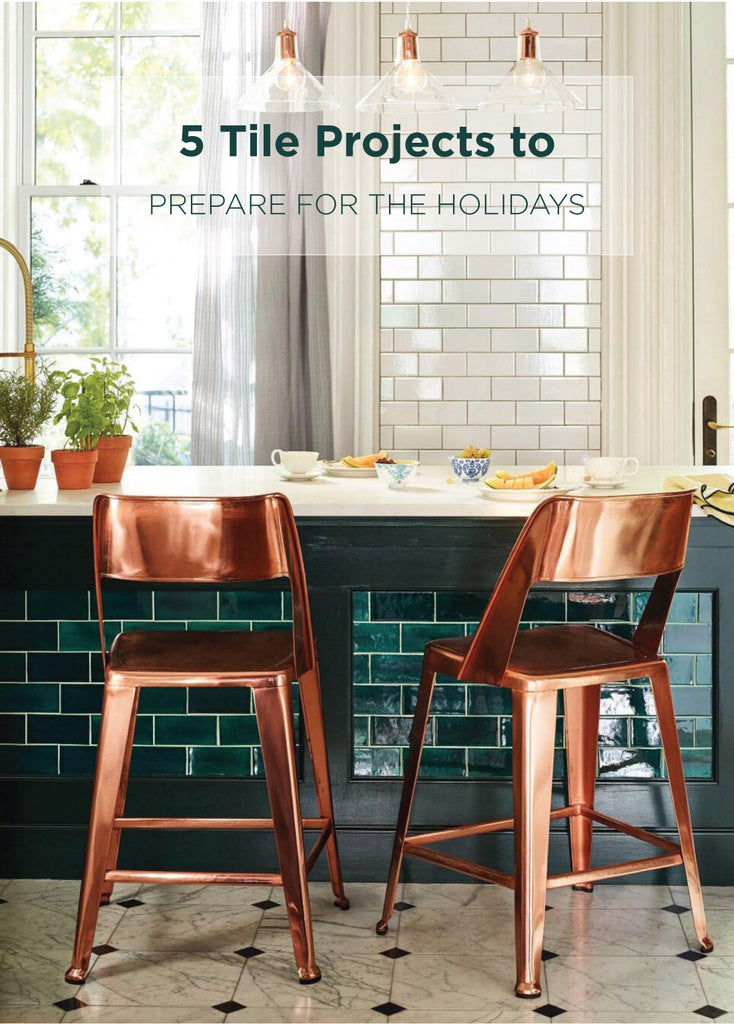 5 Festive Tile Design Projects For The Holidays Mercury Mosaics