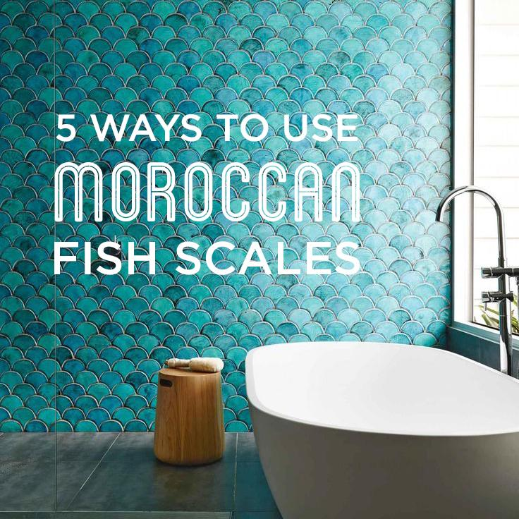 5 Ways to Use Moroccan Fish Scales – Mercury Mosaics