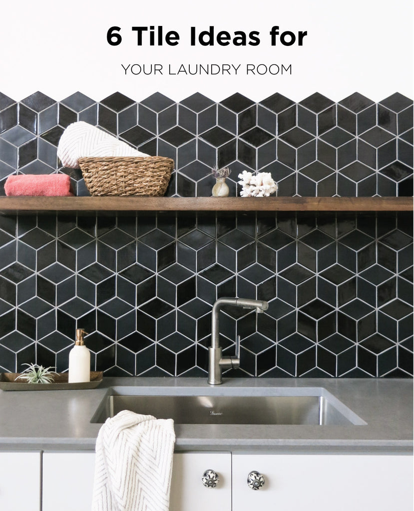 6 Tile Ideas for Your Laundry Room