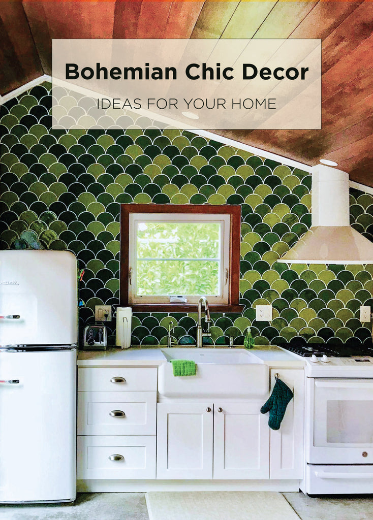 Image of: 6 Bohemian Chic Decor Ideas For Your Home Mercury Mosaics