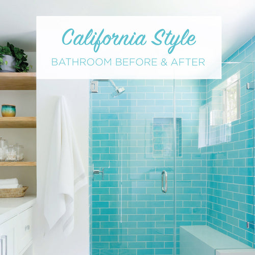 California Style Bathroom Before & After