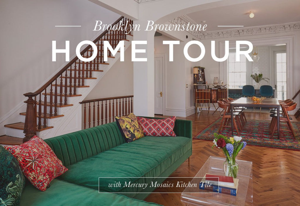 Home Tour: Brooklyn Brownstone Bluegrass Tile