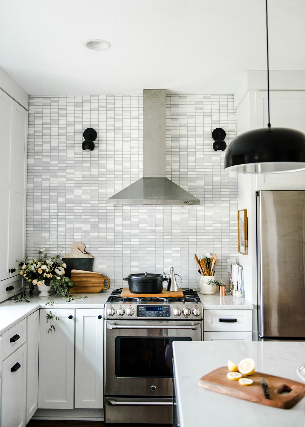 Light Ombre Backsplash
