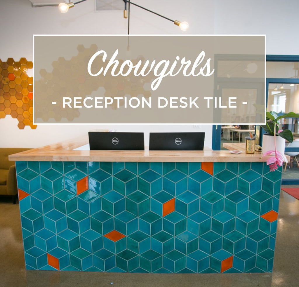 Chowgirls Killer Catering New HQ with Handmade Tile – Mercury Mosaics