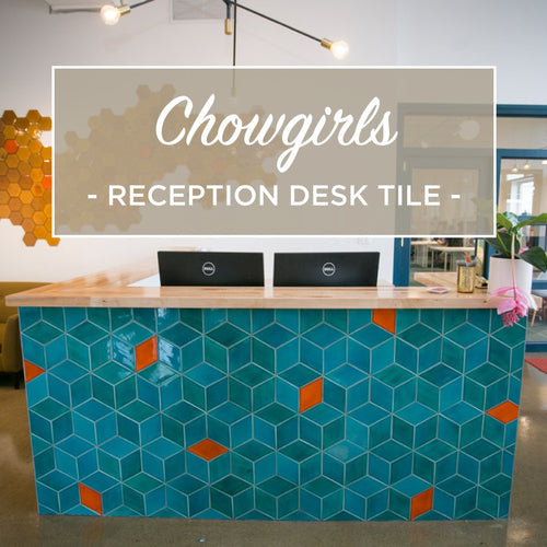 Chowgirls Killer Catering New HQ with Handmade Tile