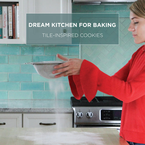 Dream Kitchen For Baking Tile-Inspired Cookies