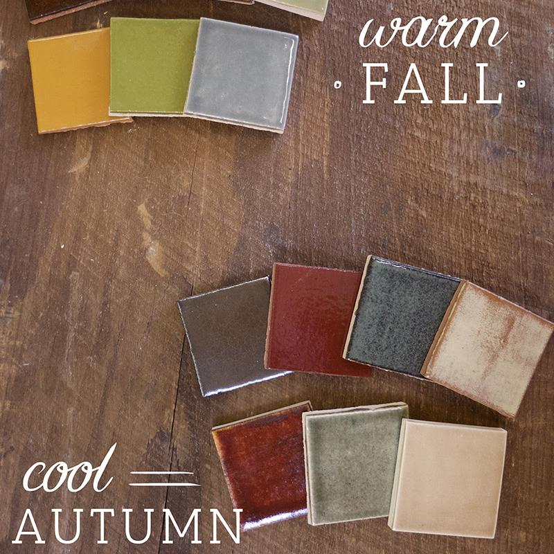 Design Ideas: Fall Color Palettes