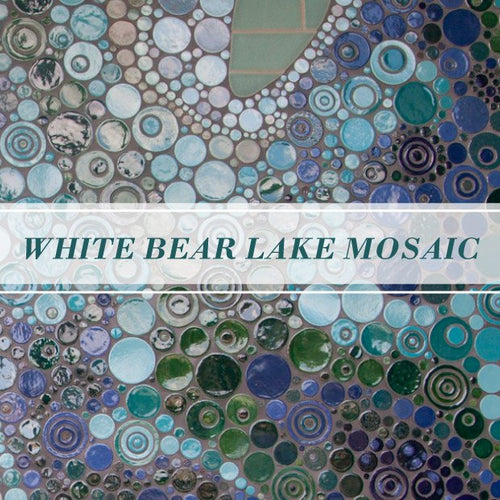 White Bear Lake Mosaic - A Must-See Bathroom!