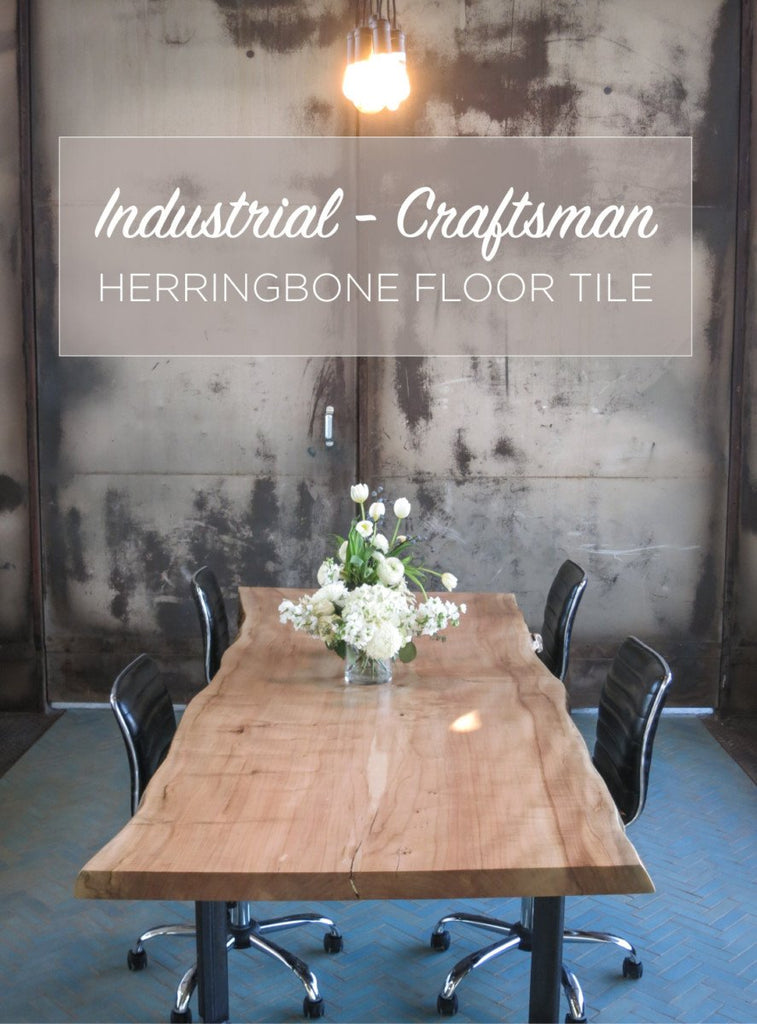 Industrial Craftsman Conference Room Floor Tile