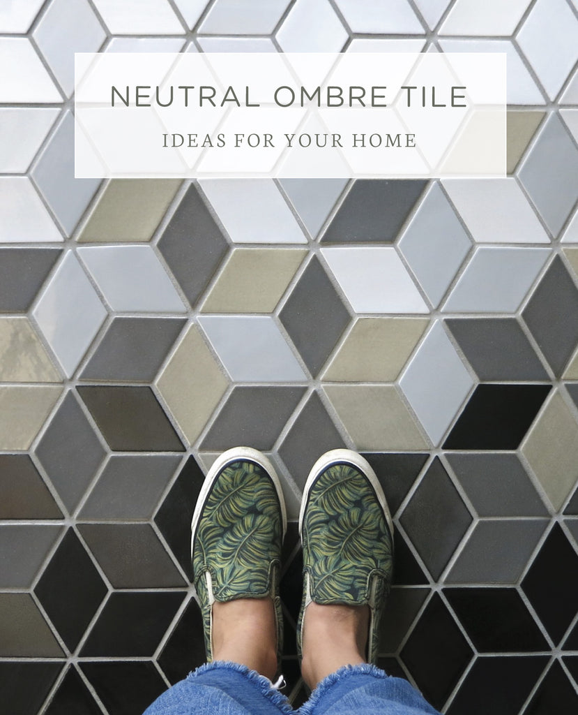 - 6 Neutral Ombre Tile Ideas For Your Home Mercury Mosaics
