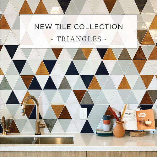 New Tile Collection: Triangles