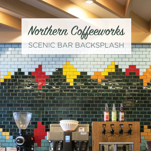 Northern Coffeeworks Scenic Bar Backsplash