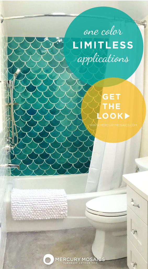 Moroccan Fish Scale Tiles - 11 Ways to incorporate your favorite Mermaid Shape!