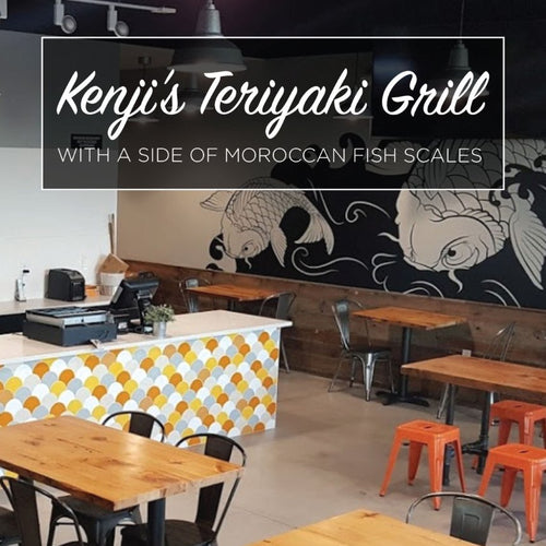 Kenji's Teriyaki Grill with a Side of Moroccan Fish Scales