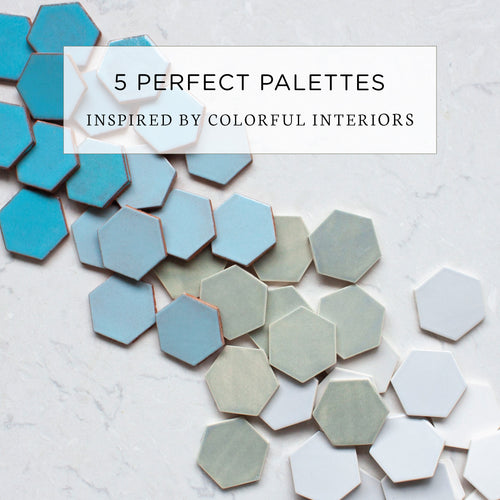5 Perfect Palettes Inspired by Colorful Interiors