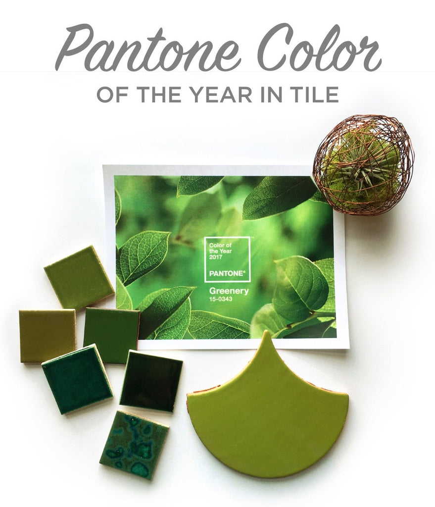 Pantone Color of the Year in Tile