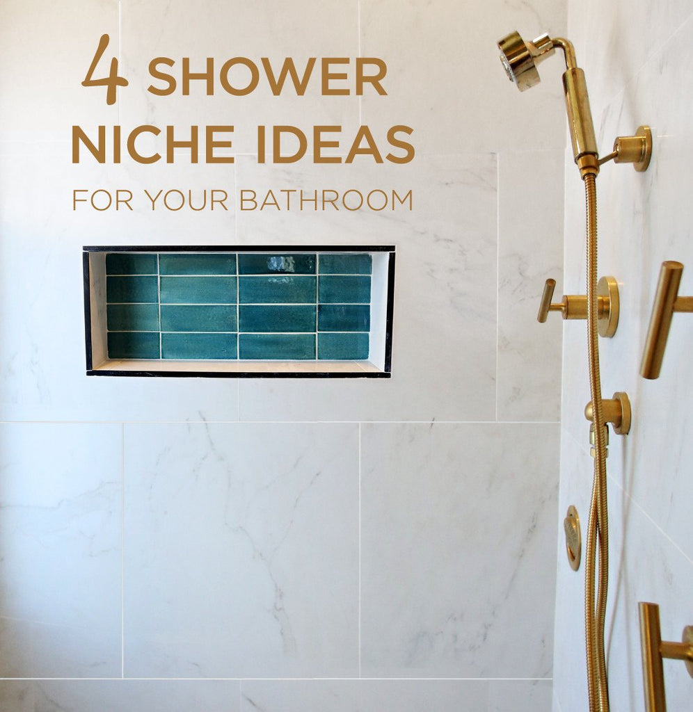 Pleasing 4 Stylish Shower Niche Tile Ideas For Your Bathroom Download Free Architecture Designs Rallybritishbridgeorg