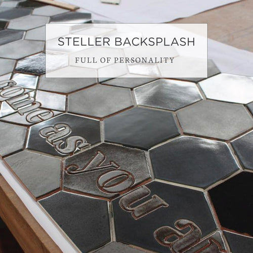 Steller Backsplash Full of Personality