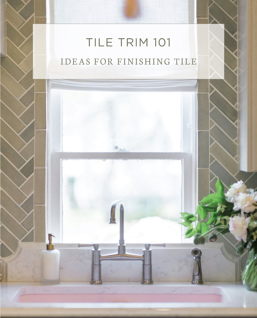 Types Of Tile Trim 8 Ways Of Installing Tile Trim Mercury Mosaics
