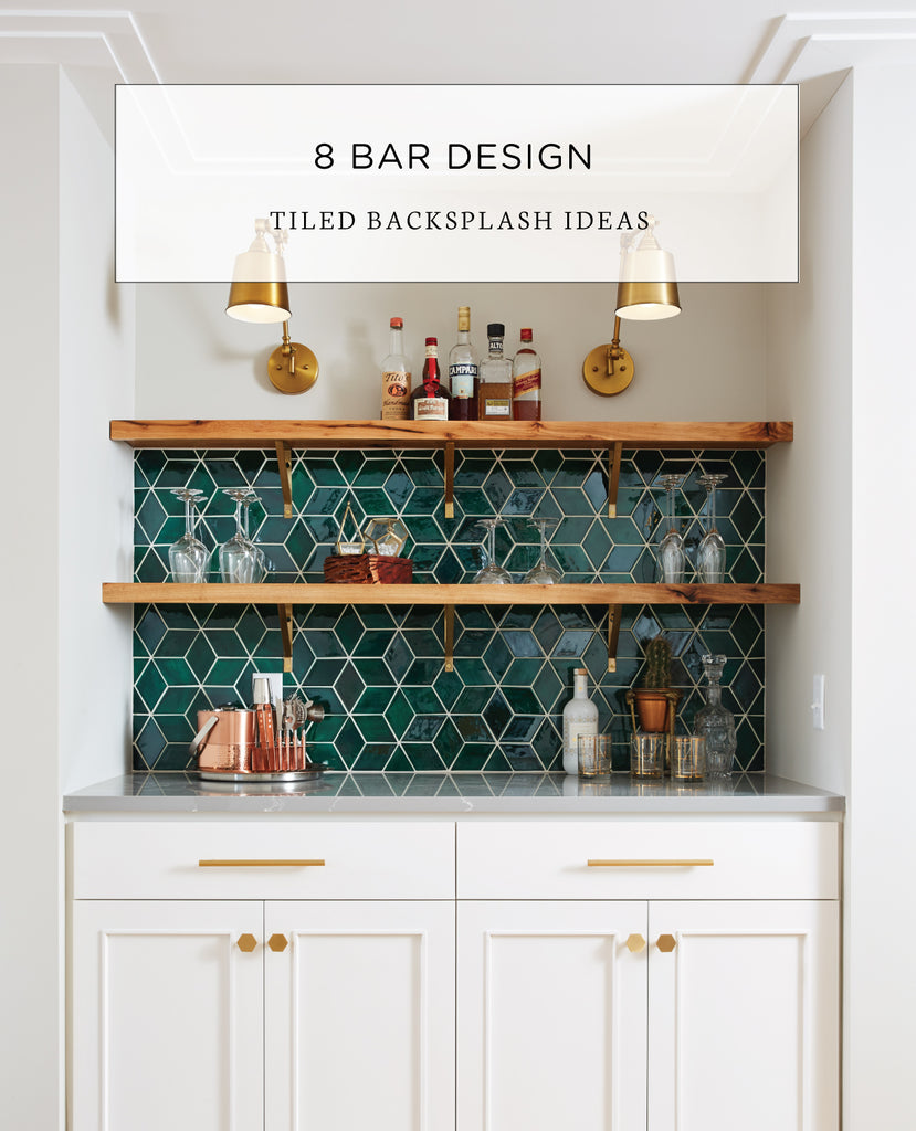 8 Tiled Backsplash Ideas For Bar Designs Mercury Mosaics