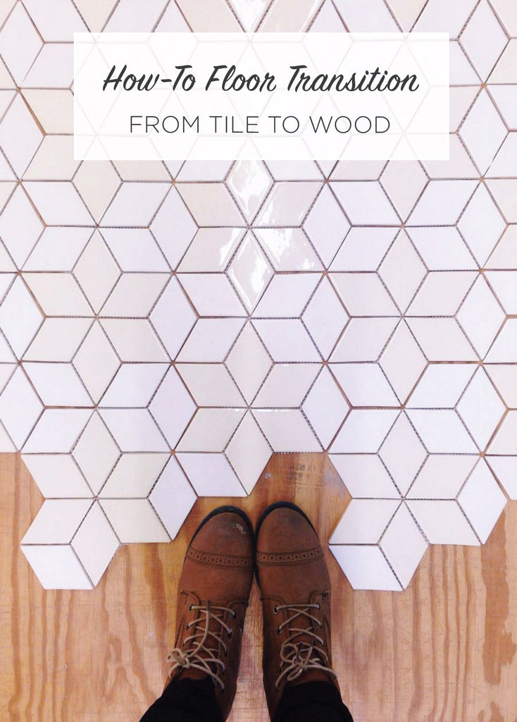 How-To Floor Transition From Tile to Wood