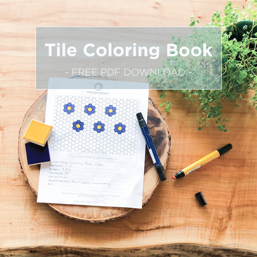 Tile Coloring Book