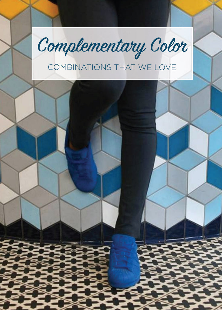 Tile Designs We Love: 6 Complementary Color Combinations – Mercury ...