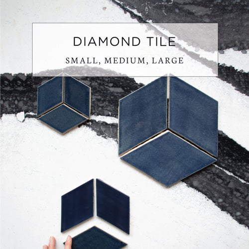 Diamond Tile Small, Medium, Large