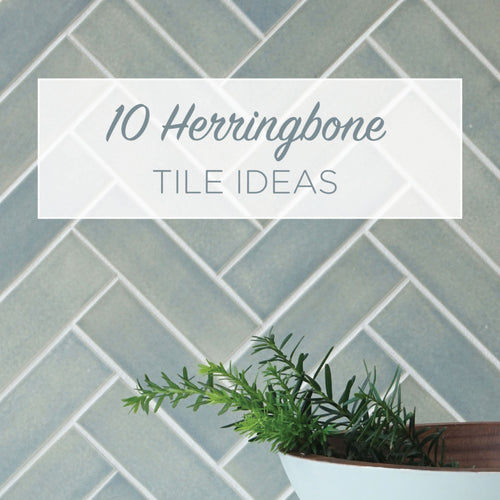 10 Herringbone Tile Ideas