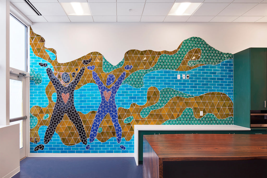 University of Minnesota Broadway Clinic Alive and Well Mural