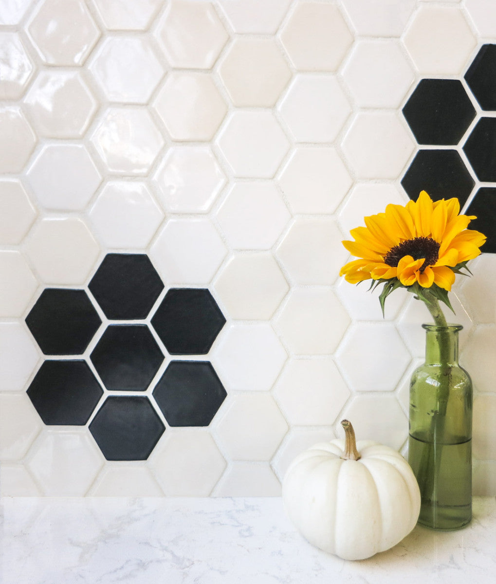 5 Ways to Use Black and White Tile – Mercury Mosaics